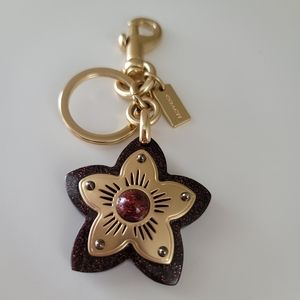 Coach Star Bag Charm / Key chain